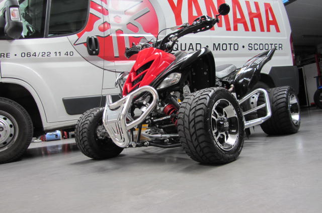 quad 700 raptor se limited occasion yamaha 2 pots akrapovic. Black Bedroom Furniture Sets. Home Design Ideas